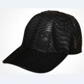 LA-1502 御龙氏 进口 蟒蛇皮 棒球帽  男女经典版