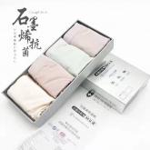 2019新品 AB-002 政泽妮  石墨烯 抗菌 导湿 内裤(四条/盒)