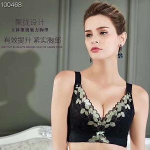2020新品  AA-209 政泽妮 记忆软钢圈 薄杯 玻尿酸 五排 调整养护型 文胸 套装