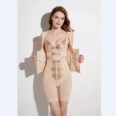 2021-X021 政泽妮 身材管理器(短文胸+腰背夹+中束裤)高端生物陶瓷 三件套